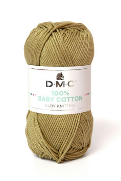 DMC 100% Baby Cotton - Beige Scuro 772