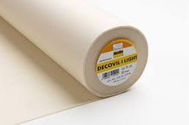 Decovil light: interfodera leggera e stirabile con mano simile a pelle