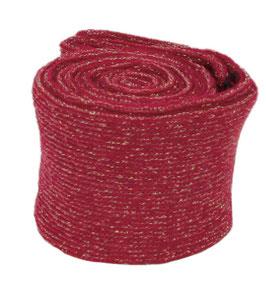 Tubolare mini lurex -212- Rosso