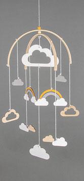 Rayher - kit per mobile con nuvolette