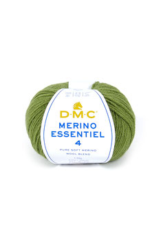 DMC Merino Essentiel 4 - verde oliva (874)