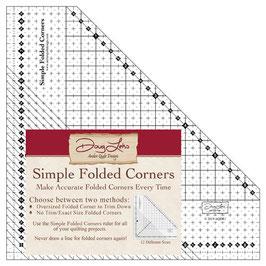 Simple Folded Corners Ruler by Doug Leko