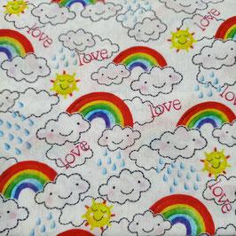 Tessuti Baby - arcobaleni love