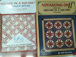 Advancing On II with the square in a square tecnique,  con la squadra square in square