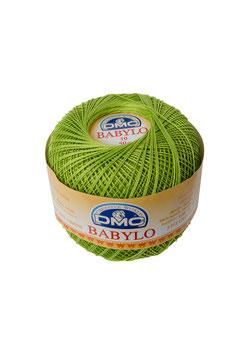 DMC Babylo size 10 (Titolo 8) - Colore 907 (Verde)