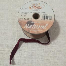 """Cipiglia by """"I Nastri Di Mirta"""" - Nastro bordeaux 1.5cm"""