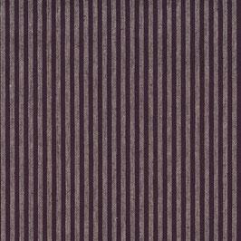 Misto lino shabby chic - viola e viola chiaro, rigatino