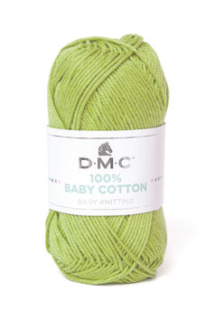 DMC 100% Baby Cotton - Verde Oliva (752)