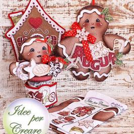Pannello in pannolenci P037 - Biscotti di Pan di Zenzero