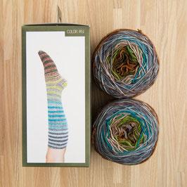 Uneek sock urth - Kit per calze a righe #61