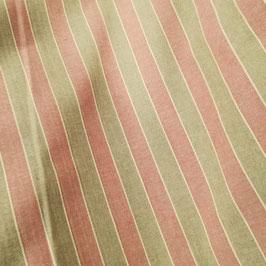 Tela di cotone rosa fasce color lino