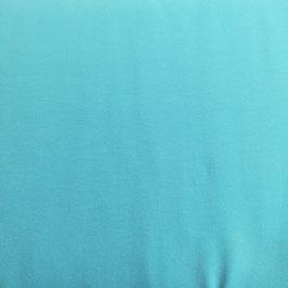 Jersey di cotone - Turchese tinta unita