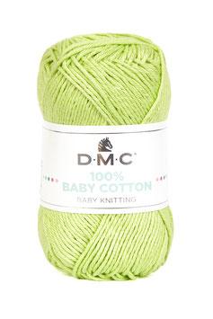 DMC 100% Baby Cotton - Verde Mela 779