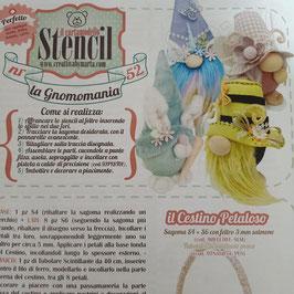 """Stencil """"la Gnomomania"""""""
