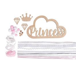 """Kit ciondolo in legno """"Princess"""""""