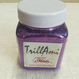"TrillAmi by ""I nastri di Mirta"" glitter viola."