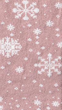 Tubolare Lurex Fiocco - TU410 - rosa e bianco