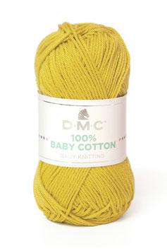 DMC 100% Baby Cotton - Giallo acido (771)