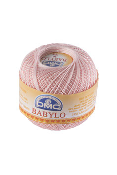 DMC Babylo size 5 (Titolo 5) - Colore 818 (Rosa)
