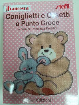 Crea con Francesca: Coniglietti e orsetti a punto croce