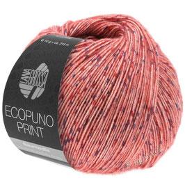 LANA GROSSA Ecopuno Print - Colore 103 (corallo)