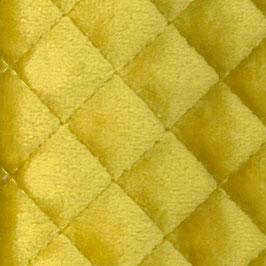 Velluto trapuntato giallo