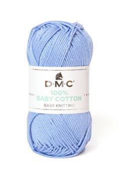 DMC 100% Baby Cotton - Azzurro 751