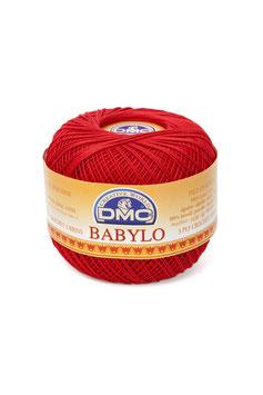 DMC Babylo size 10 (Titolo 8) - Colore 666 (Rosso Chiaro)