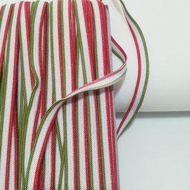 Elastico piatto tricolore per mascherine - taglio da 5 mt