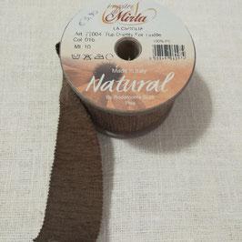 """Cipiglia by """"I Nastri Di Mirta"""" - Nastro marrone 5cm"""