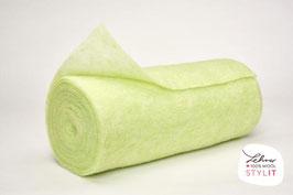 Vello di lana - verde lime