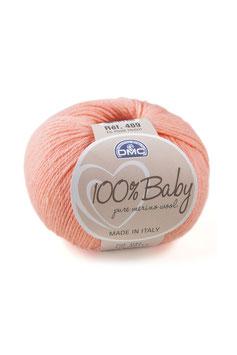 DMC 100% Baby Merino - Rosa salmone  (42)