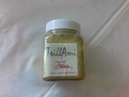 """TrillAmi by """"I nastri di Mirta"""" oro."""