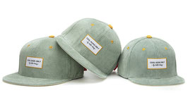 Casquette Velours Sweet Baby Blue