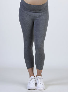 Leggings Courts Gris Coton