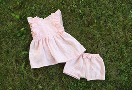 Robe & bloomer Rose