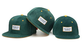 Casquette Velours Sweet Emerald