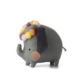 Elephant 18cm dans boîte cadeau