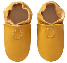Chaussons Cuir (0-3 mois)  (L&A)
