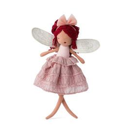 Fée Céleste avec robe rose 35cm