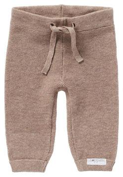 Pantalon Bébé Grover Taupe en Coton Bio