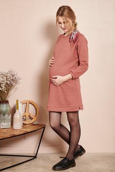 Robe Molletonnée Rose Pailleté (G&A)