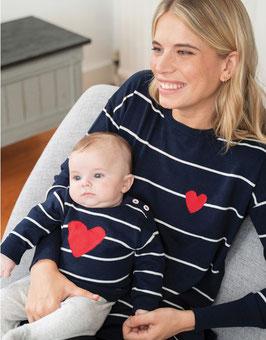 Pulls marinières Mama/Mini  Lennan (G&A)