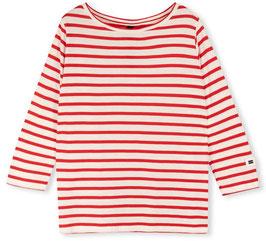 10DAYS - Longsleeve Tee Stripe (rot/weiß)