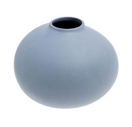 STOREFACTORY Vase Källa  blau-grau (groß)