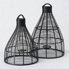 Bambus Windlich Rantum schwarz (2 Größen verfügbar)