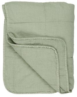 IB LAURSEN Quilt Decke hellgrün