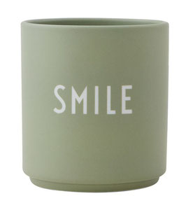 DESIGN LETTERS Becher SMILE