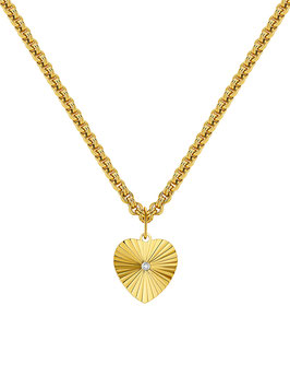 ICRUSH Ray of Sunshine Kette Gold