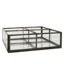 IB LAURSEN Glasbox mit 4 Fächern